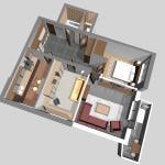 Расстановка мебели в квартире