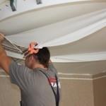 Натяжной потолок своими руками – секреты работы