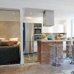 Дизайн маленькой квартиры - студии