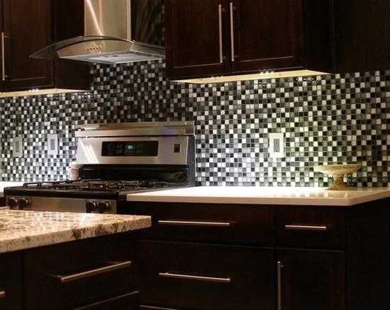 Плитка мозаика для кухни фото